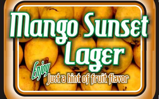 Mango Sunset Lager