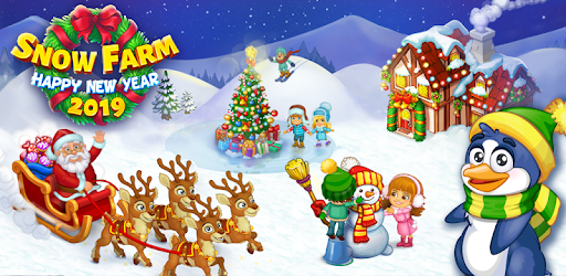 Snow On Christmas 2019 Farm Snow: Happy Christmas Story With Toys & Santa   Apps on