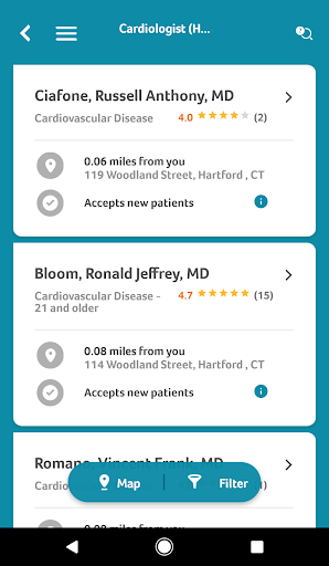 Aetna Mobile Screenshot
