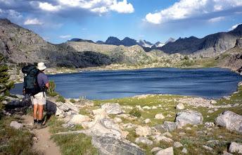 Photo: Backpacker, Wind River Range, Wyoming