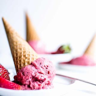 Strawberry Chocolate Chip Nice Cream Recipe