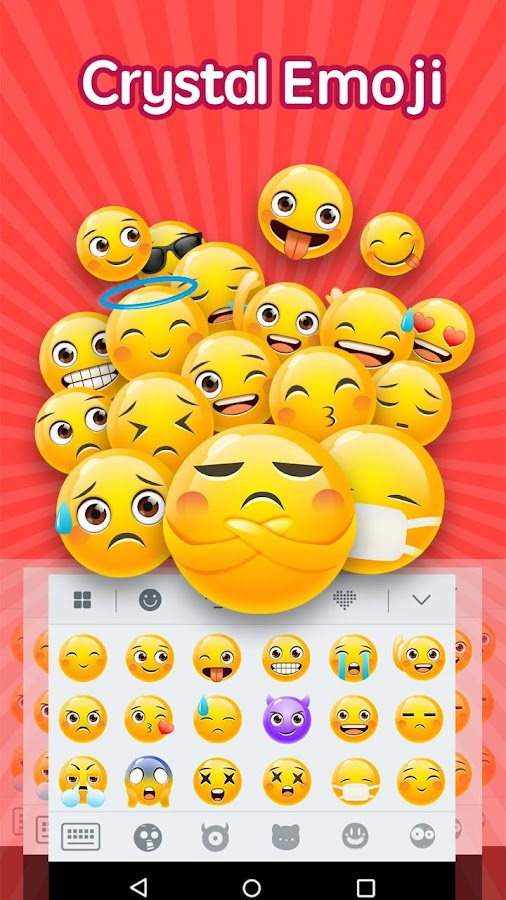 Emoji Keyboard ❤- screenshot