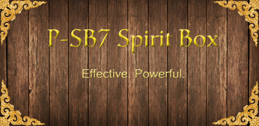 P-SB7 Ghost Box APK Download com gbox p_sb7