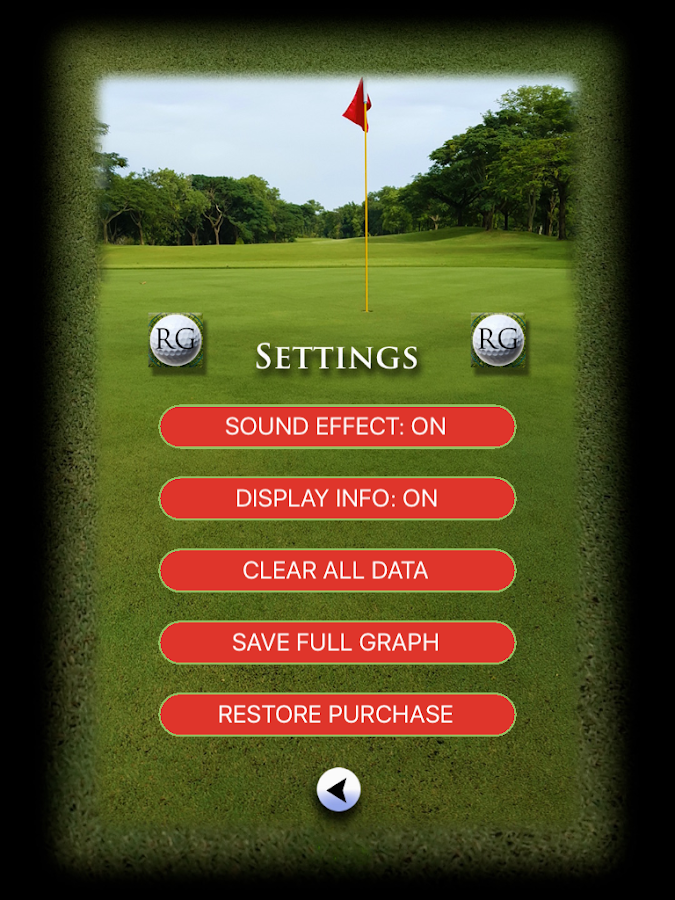 Radial Golf- screenshot