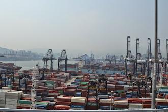 Photo: Hong Kong port