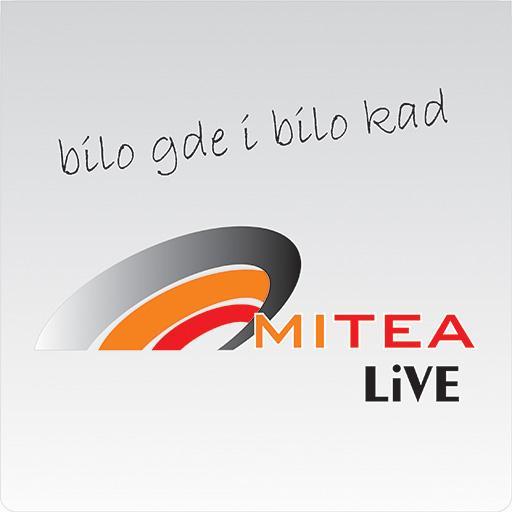 Android aplikacija MITEA LiVE