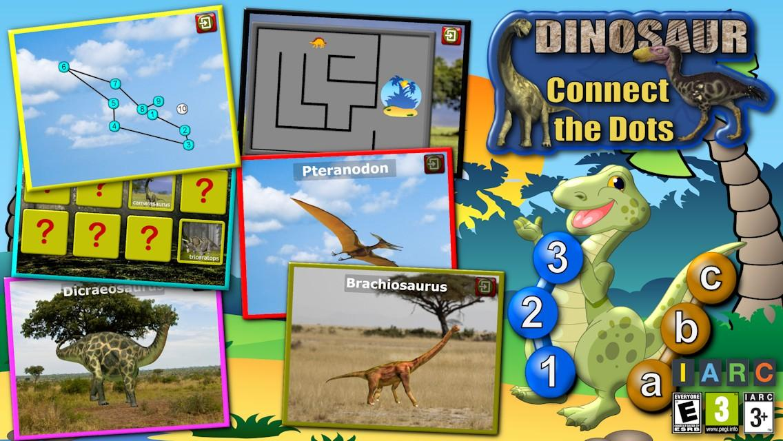Kids Dinosaur Join the Dots- screenshot