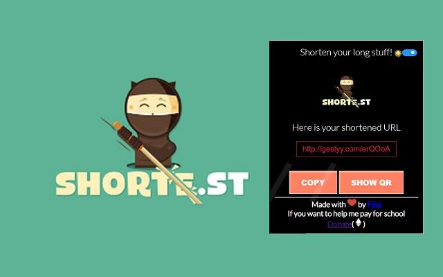URL Shortener - Shorte.st