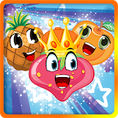 Candy Fruit King - Free Puzzle Game