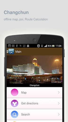 Changchun Map offline