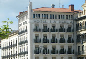 Photo: Gran Hotel La Perla where Ernest Hemingway stayed when he first came to Pamplona