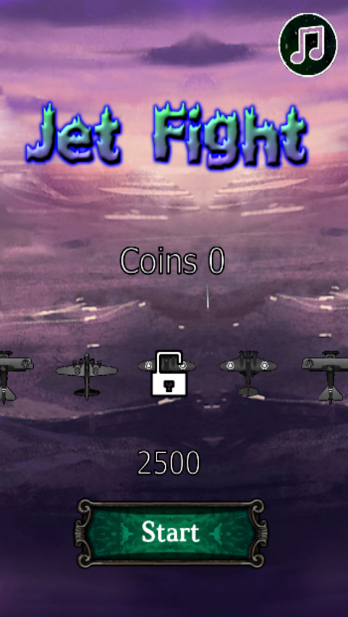 Jet Fight – Capture d'écran