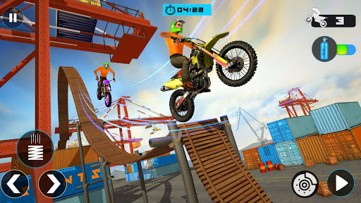 Crazy Bike Stunt Racing Games : Bike Racing 3D 2.1 screenshots 5