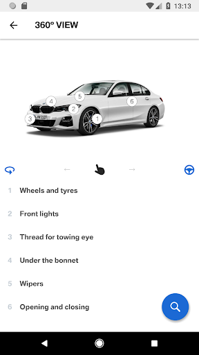 BMW Driver's Guide screenshot