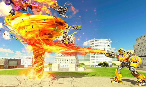 Tornado Robot Transforming: Future Robot Wars 1.0.6 {cheat|hack|gameplay|apk mod|resources generator} 4
