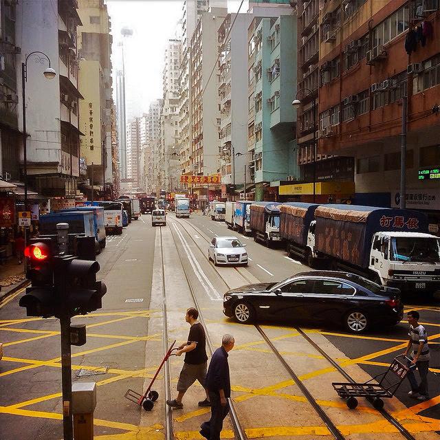 Sheung Wan, Dried Seafood Street, street,  上環, 海味街