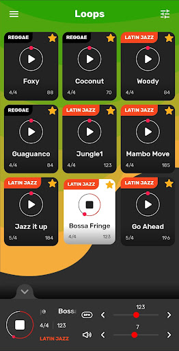 Drum Loops Reggae screenshot 17