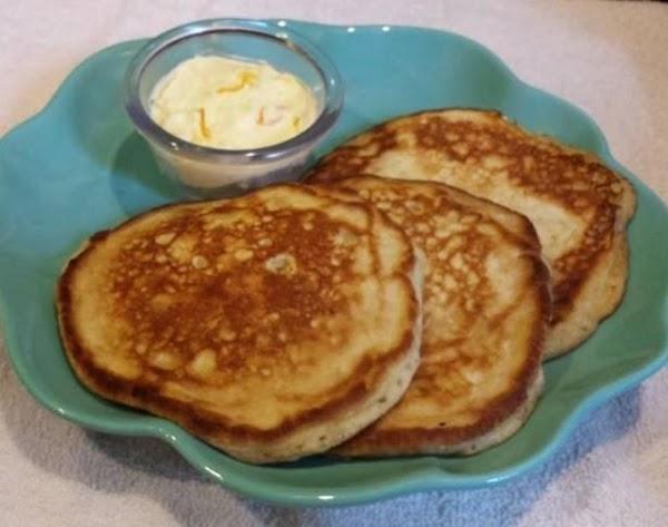Banana Macadamia Pancakes With Orange Butter Recipe