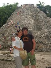Photo: Pyramide in Coba - mit 48 Meter die höchste Pyramide