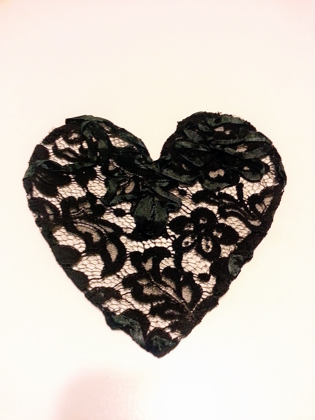 In-Progress: I Heart Lace Dress - DIY Fashion Garments - fafafoom.com