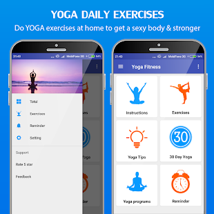 Yoga daily fitness - Yoga workout plan Screenshot