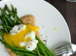 Poached Eggs With Asparagus And Lemon Butter Recipe