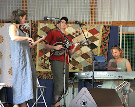Photo: Beverwyck String Band:   Britany Orlebeke, Peter Siegel, Kristen Hislop