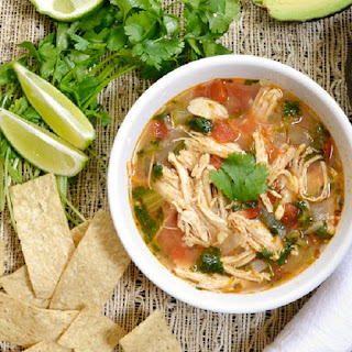 Slow Cooker Chicken and Lime Soup