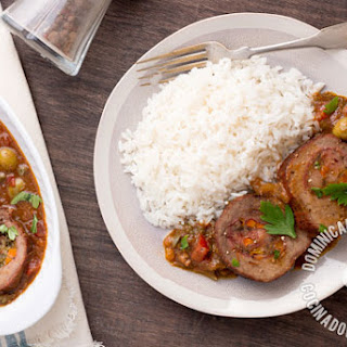 Dominican Carne Mechada Recipe (Braised Beef Roll)