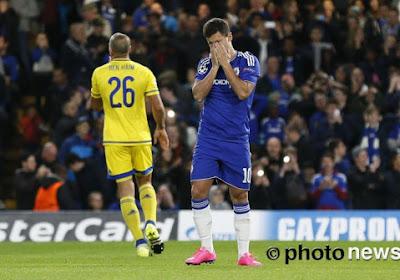 Mourinho legt uit waarom Hazard op de bank zat