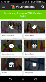 VoucherCodes- screenshot thumbnail