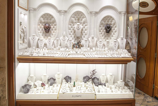 silver-jewelry-at-Olympic.jpg - You'll find silver jewelry in boutique shops, along with more exotic merchandise, at the Grand Bazaar.