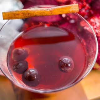 Dark Cherry Fireside Cider.