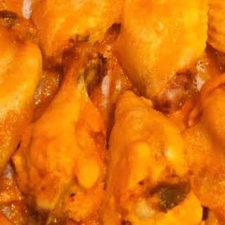 Slow Cooker Buffalo Chicken Wings.