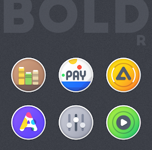 BOLDR – ICON PACK APK (MOD,Paid) v2.0 2