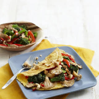 Omelettes with Stir-Fried Vegetables.