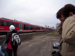Photo: Siemens Desiro típusú vonattal érkeztünk