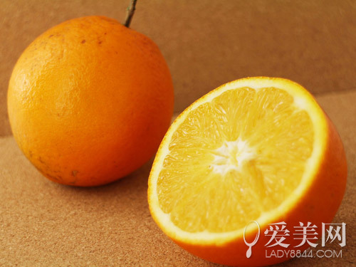Orange can be white!  Peel Peel Jun efficacy you make it