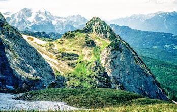 Photo: Mittenwald, Gemsanger  Blick zur Zugspitze - mittlere Wanderungen zwischen Mittenwald und Achensee  https://pagewizz.com/wandern-zwischen-mittenwald-und-achensee-im-karwendel-und-wetterstein/ (Aufrufe: 51599)