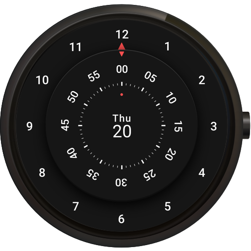 Roto 360 Watch Face for Android Wear OS