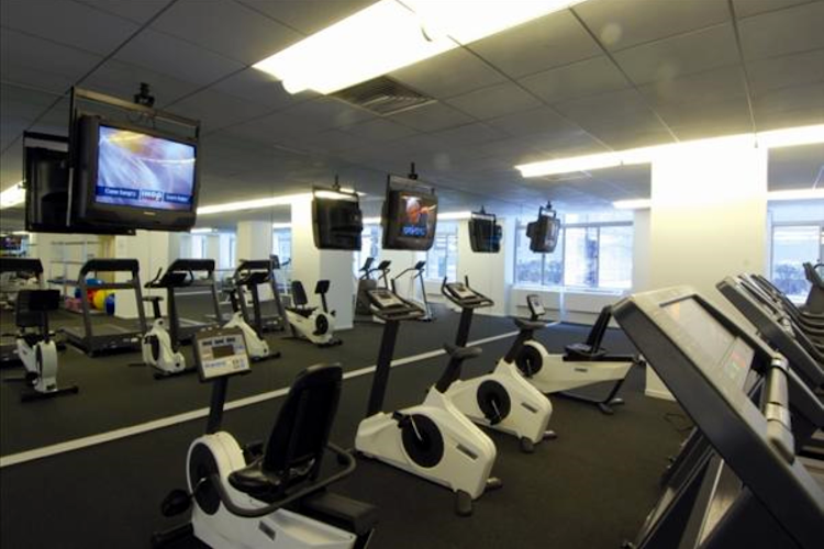Gym at Global Luxury Suites at 777 6th Avenue