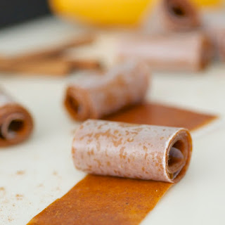Spiced Mango Roll-Ups