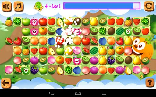 玩免費棋類遊戲APP|下載Fruit Matching app不用錢|硬是要APP