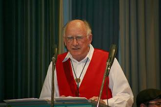 Photo: Ansprache durch den Präsidenten Franz Wagner