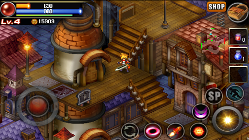 Mystic Guardian : Old School Action RPG - screenshot