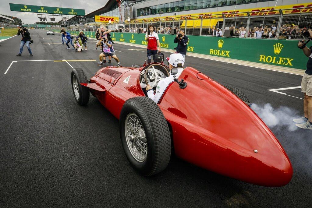 F1第10戦イギリスGPアルフェッタパレード
