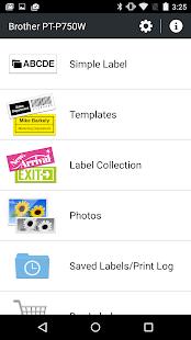 Brother iPrint&Label - screenshot thumbnail