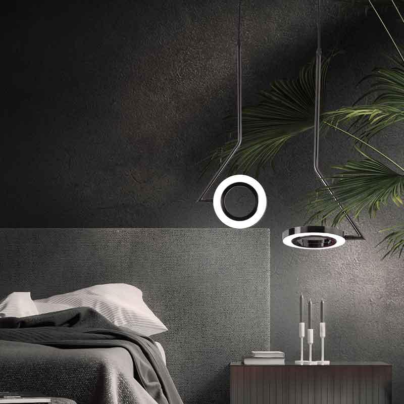 Amazing Pendant Lights in Bedroom
