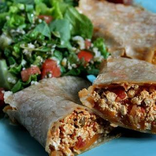 Scrambled Tofu Burritos Recipe
