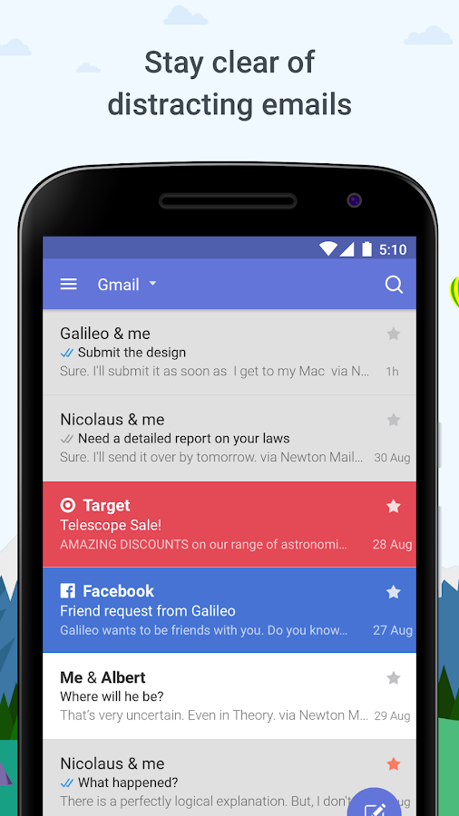 Newton Mail - Email & Calendar- screenshot